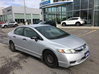 Used 2010 Honda Civic DX *** DEAL INCLUDES WINTER TIRES AND RIMS*** Automatic ***CLEAN AND READY*** for sale in Ottawa, ON