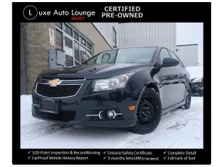 Used 2014 Chevrolet Cruze 2LT, LEATHER, HEATED SEATS, BACK-UP CAMERA, NAV!! for sale in Orleans, ON