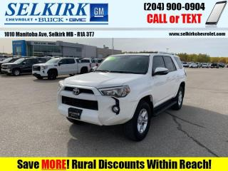 Used 2015 Toyota 4Runner SR5 V6  - Bluetooth for sale in Selkirk, MB