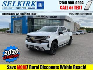 New 2020 Chevrolet Silverado 1500 High Country  - Navigation for sale in Selkirk, MB