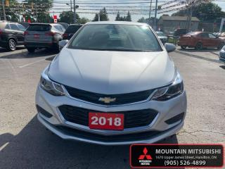 Used 2018 Chevrolet Cruze LT  - Bluetooth -  Heated Seats - $56.66 /Wk for sale in Hamilton, ON