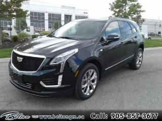 New 2020 Cadillac XT5 Sport - Navigation - Leather Seats - $384 B/W for sale in Bolton, ON