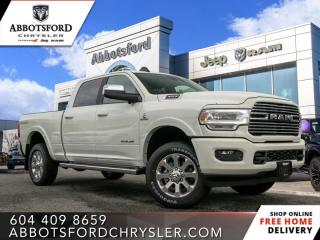 New 2020 RAM 3500 Laramie  - Sunroof - Leather Seats for sale in Abbotsford, BC