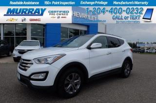 Used 2016 Hyundai Santa Fe Sport AWD* Heated Ft & Rear Seats* Heated Steering* Sunr for sale in Brandon, MB