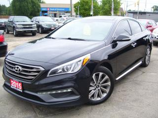 Used 2015 Hyundai Sonata 2.4L Sport Tech,GPS, Bluetooth,Leather,Sunroof for sale in Kitchener, ON