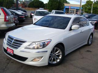 Used 2012 Hyundai Genesis 3.8L,LEATHER,SUNROOF,CERTIFIED,ALLOYS,TINTED,FOGS for sale in Kitchener, ON