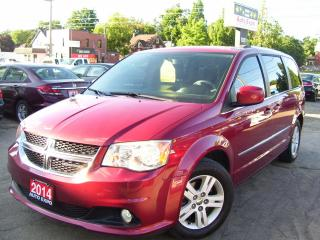 Used 2014 Dodge Grand Caravan CREW,LEATHER,GPS,DVD,BLUETOOTH,BACKUP CAMERA,FOGS for sale in Kitchener, ON