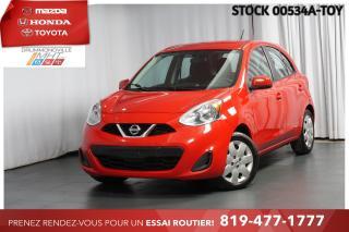 Used 2015 Nissan Micra MANUELLE| 1 PROPRIO| SUIVI D'ENTRETIEN COMPLET for sale in Drummondville, QC