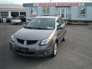 Used 2003 Pontiac Vibe Base for sale in St-Jean-Sur-Le-Richelieu, QC