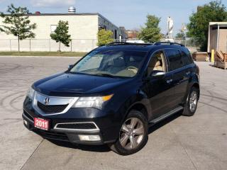 Used 2011 Acura MDX AWD, 7 Pass, Leather, Sunroof, 3/Y Warranty avai for sale in Toronto, ON