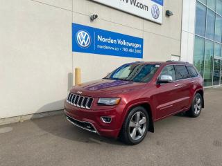 Used 2014 Jeep Grand Cherokee Overland 4dr 4WD Sport Utility for sale in Edmonton, AB