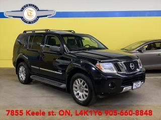 Used 2008 Nissan Pathfinder LE 4X4 V8 5.6L, Fully Loaded for sale in Vaughan, ON
