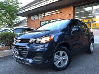 Used 2018 Chevrolet Trax LS AWD Rear Cam Alloys Bluetooth Low KM Certified* for sale in Concord, ON