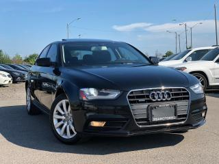 Used 2013 Audi A4 6 SPD Manual for sale in Oakville, ON