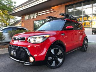 Used 2016 Kia Soul SX Urban edition Panoramic sunroof R.Cam Certif* for sale in Concord, ON