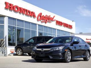 Used 2016 Honda Civic LX | MANUAL | LOCAL TRADE for sale in Winnipeg, MB