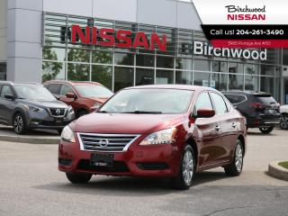Used 2015 Nissan Sentra SV Bluetooth | Heated Seats | Rear View Camera for sale in Winnipeg, MB