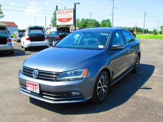 Used 2015 Volkswagen Jetta TDI COMFORTLINE for sale in Alvinston, ON