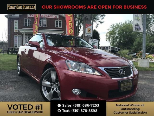 2011 Lexus IS 350 C Rare Find, Heated Seats, Cooled / Air Conditioned Seats, Leather, Cream Leather, Convertible HardTop