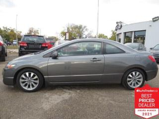 Used 2010 Honda Civic COUPE 2dr Auto EX-L - Sunroof/Leather/Heated Seats for sale in Winnipeg, MB