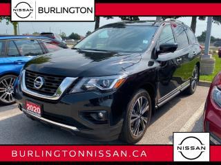 New 2020 Nissan Pathfinder 4x4 Platinum for sale in Burlington, ON
