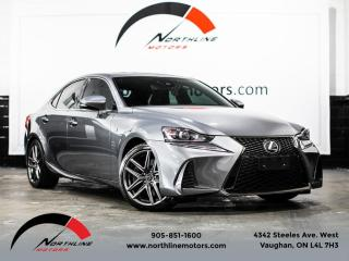 Used 2017 Lexus IS 350 F-Sport Series 2|Navigation|Red Leather|Blindspot|LDW for sale in Vaughan, ON