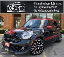Used 2013 MINI Cooper Countryman John Cooper Works NAVI Sunroof Heated Seats Rear Parking Sensors Clean Carfax for sale in North York, ON