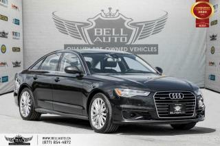 Used 2016 Audi A6 3.0T Technik, NO ACCIDENT, AWD, NAVI, 360 CAM for sale in Toronto, ON