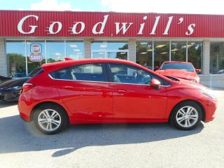 Used 2018 Chevrolet Cruze LT! HATCH BACK! HEATED SEATS! REMOTE START! B/T! for sale in Aylmer, ON