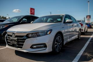New 2020 Honda Accord Hybrid TOURING ACCORD 4 DOORS for sale in Woodstock, ON