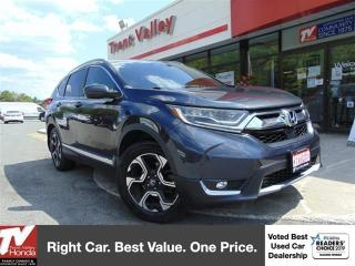 Used 2017 Honda CR-V Touring (1) Owner for sale in Peterborough, ON
