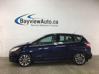 Used 2017 Ford C-MAX Hybrid Titanium - HTD LEATHER! NAV! FUEL SAVER! for sale in Belleville, ON