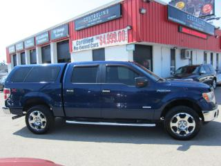 Used 2012 Ford F-150 XLT 9,995+HST+LIC FEE / CERTIFIED / CREW CAB/ HARD PAINTED COVER for sale in North York, ON