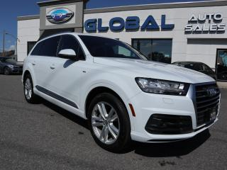 Used 2017 Audi Q7 Technik S-LINE 3.0T Technik for sale in Ottawa, ON
