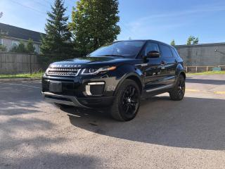 Used 2016 Land Rover Evoque AWD Navi Panoramic Heated SE for sale in Ottawa, ON