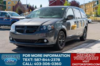 Used 2018 Dodge Grand Caravan GT/LEATHER/PWR DOORS/NAV for sale in Okotoks, AB