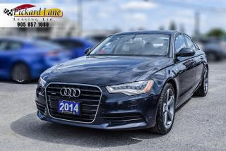 Used 2014 Audi A6 TDI Technik DIESEL | ACCIDENT FREE! | LOW KM! for sale in Bolton, ON