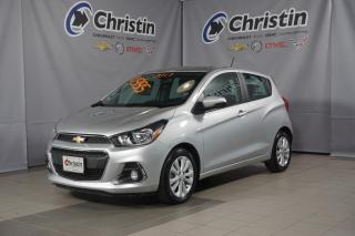 Used 2017 Chevrolet Spark LT AUTO A/C APPLE CAR PLAY CAM DE RECUL BLUETOOTH for sale in Montréal, QC