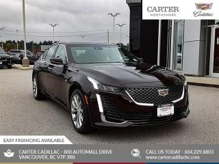 New 2020 Cadillac CTS Premium Luxury NAVIGATION - MOONROOF - MEMORY SEAT - BLIND SENSOR for sale in North Vancouver, BC
