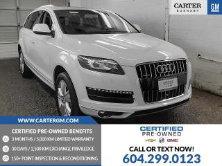 Used 2014 Audi Q7 3.0T Technik for sale in Burnaby, BC