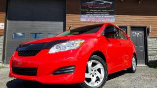 Used 2011 Toyota Matrix automatique+full équipe+bas km+8 pneus s for sale in St-Henri-de-Levis, QC
