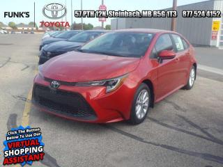 New 2020 Toyota Corolla LE Upgrade Package   Includes Michelin X-ICE snow tires (4) $812 value for sale in Steinbach, MB