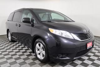 Used 2017 Toyota Sienna LE 8 Passenger 7-INCH TOUCHSCREEN, HEATED SEATS, 7-SEATER for sale in Huntsville, ON