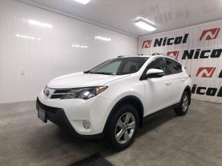 Used 2015 Toyota RAV4 XLE Nicol Occasion, le leader en région ! for sale in La Sarre, QC