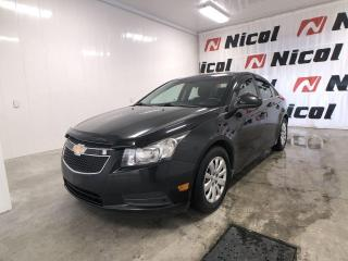 Used 2011 Chevrolet Cruze LT TURBO W/1SA Nicol Occasion, le leader régional ! for sale in La Sarre, QC