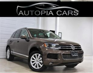 Used 2011 Volkswagen Touareg TDI HIGHLINE NAVIGATION PANORAMIC SUNROOF DIESEL for sale in North York, ON
