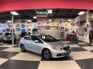 Used 2015 Honda Civic Sedan EX AUTO A/C SUNROOF BACKUP CAMERA BLUETOOTH 64K for sale in North York, ON