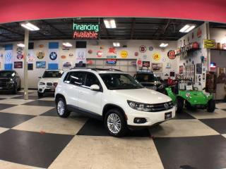 Used 2016 Volkswagen Tiguan 2.0 TSI SPECIAL EDITION AUT0 AWD PANO/ROOF P/START CAMERA for sale in North York, ON