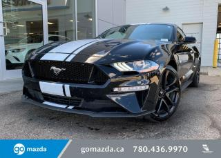 Used 2019 Ford Mustang GT PREMIUM - 5.0L BEAST, AUTO, LEATHER, BACK UP, NAV for sale in Edmonton, AB