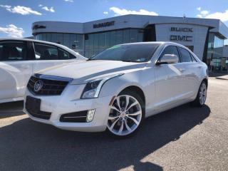 Used 2013 Cadillac ATS Premium 3.6L AWD | Heated Seats | Navigation | Sunroof for sale in Winnipeg, MB